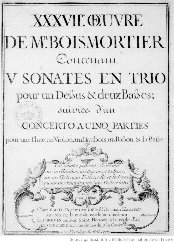 Page de couverture de la première édition de la partition